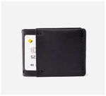 Blackinkk - Money Clip Wallet RFID - Kangaroo Leather - Black
