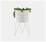 Bendo - Bundle Plant Stand & Pot Medium - Black, White, Copper or Blush