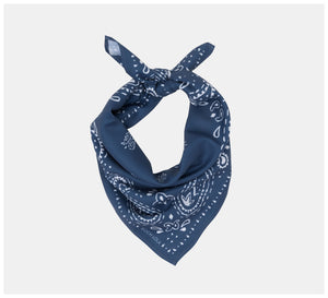 Roch Lola - The Scarf - Modern Paisley - Navy