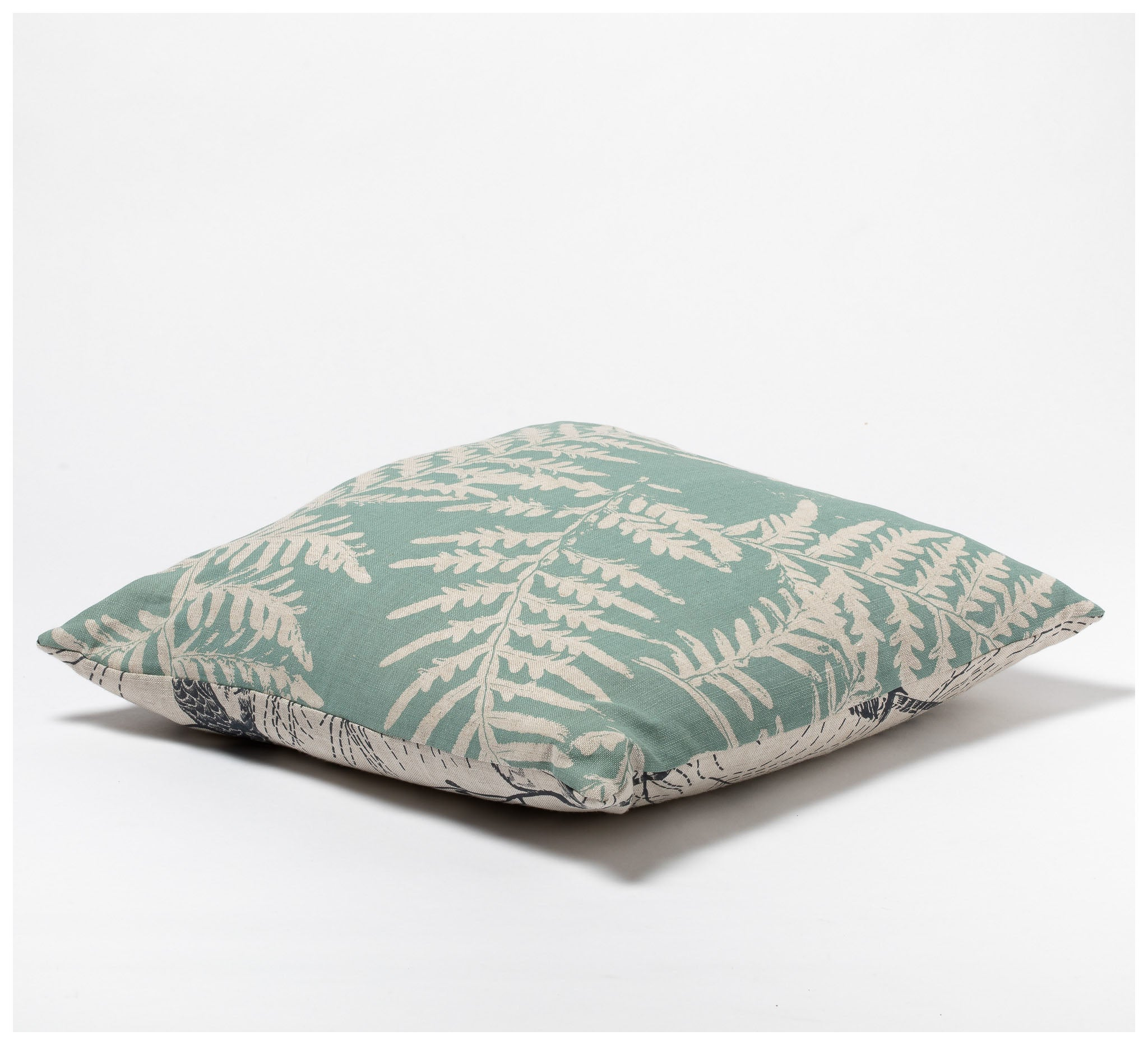 Ink & Spindle - 45cm Cushion – Bracken & Kookaburra