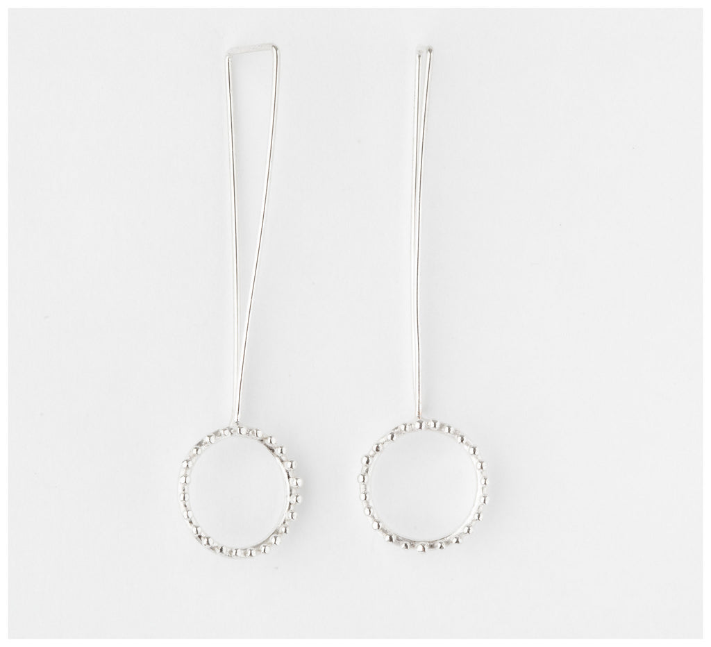 Abby Seymour – Cloud Sterling Sliver Earrings