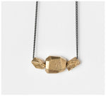 Abby Seymour – Constellation Brass and Oxidised Sliver Necklace
