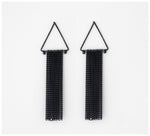 Abby Seymour – Kite Oxidised Sliver Earring