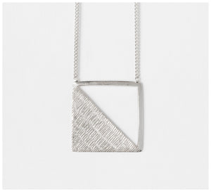 Abby Seymour – Rhombus Sterling Silver Necklace