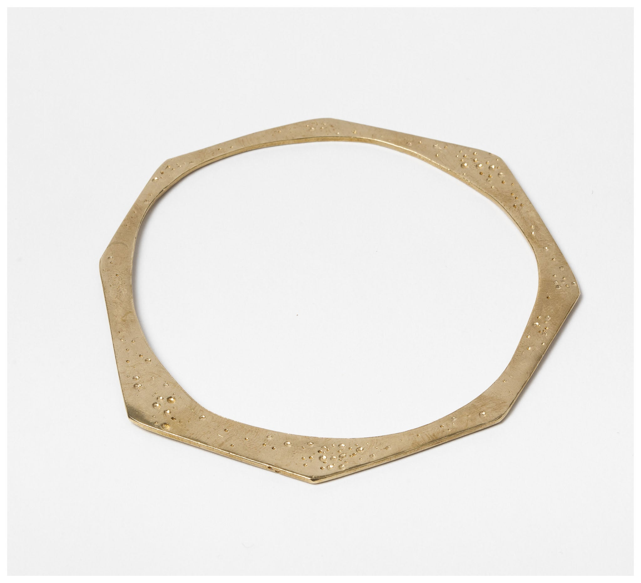 Abby Seymour – Sunrays Brass Bracelet