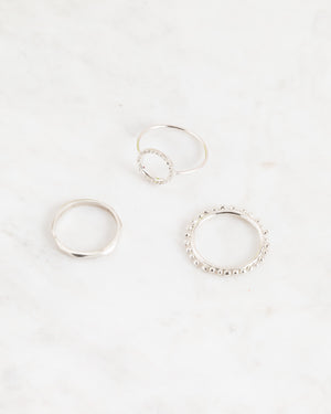 Abby Seymour – Elliptical Silver Ring