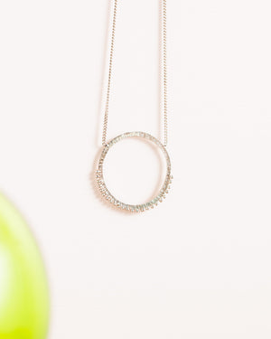 Abby Seymour – Eclipse Silver Necklace