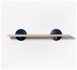 Tuckbox Design - Spot Shelf - Navy Steel and Timber