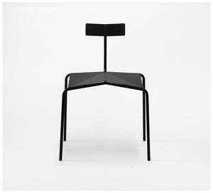 Tuckbox Design - Paper Chair - Matte Black