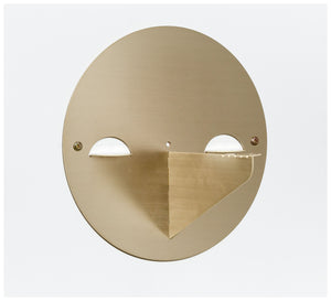 Tuckbox Design - Spot Shelf - Brass and Timber