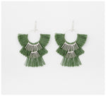 Abby Seymour – Statement Tassel Fillament Earrings