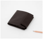 Oktoberdee - Bishop Leather Wallet - Asphalt