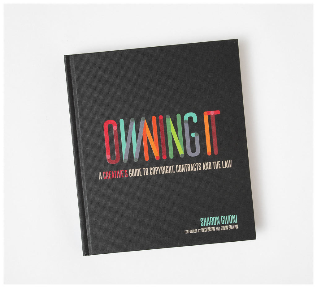 Creative Minds - Owning It by Sharon Givoni - Book