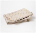 Mosey Me - Gold Dot Napkins - Set of 4