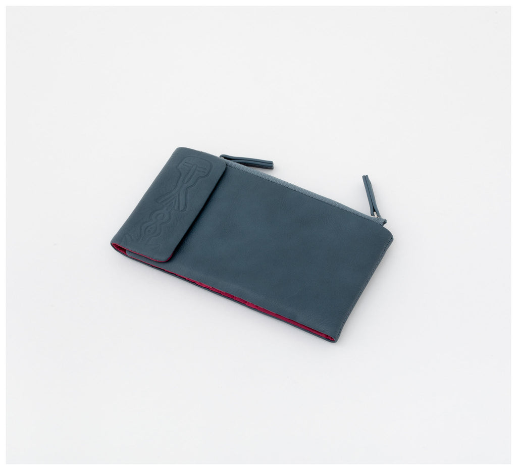 Oktoberdee - Duke Leather Wallet - Ocean