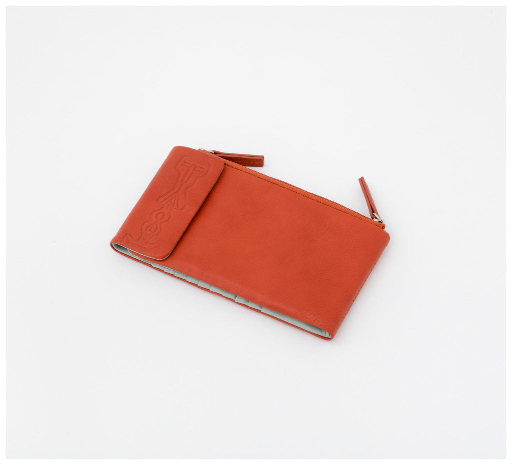 Oktoberdee - Duke Leather Wallet - Soil