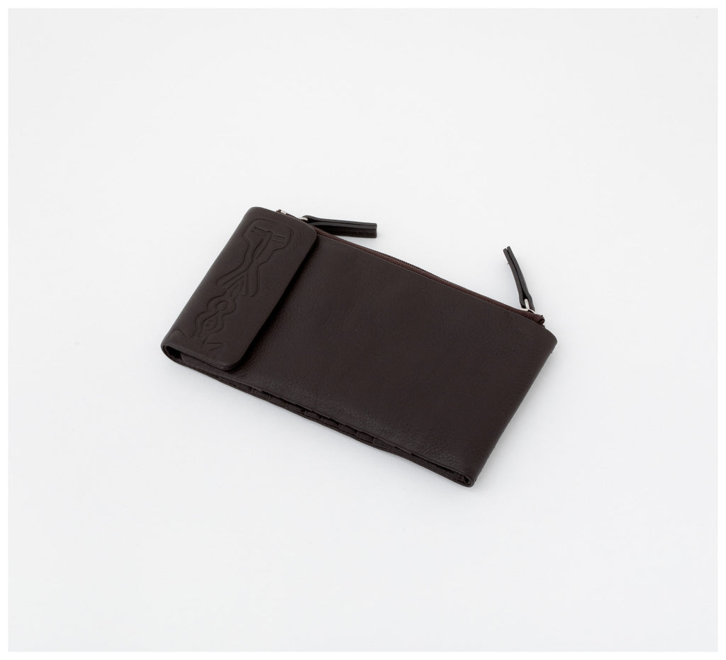 Oktoberdee - Duke Leather Wallet - Asphalt