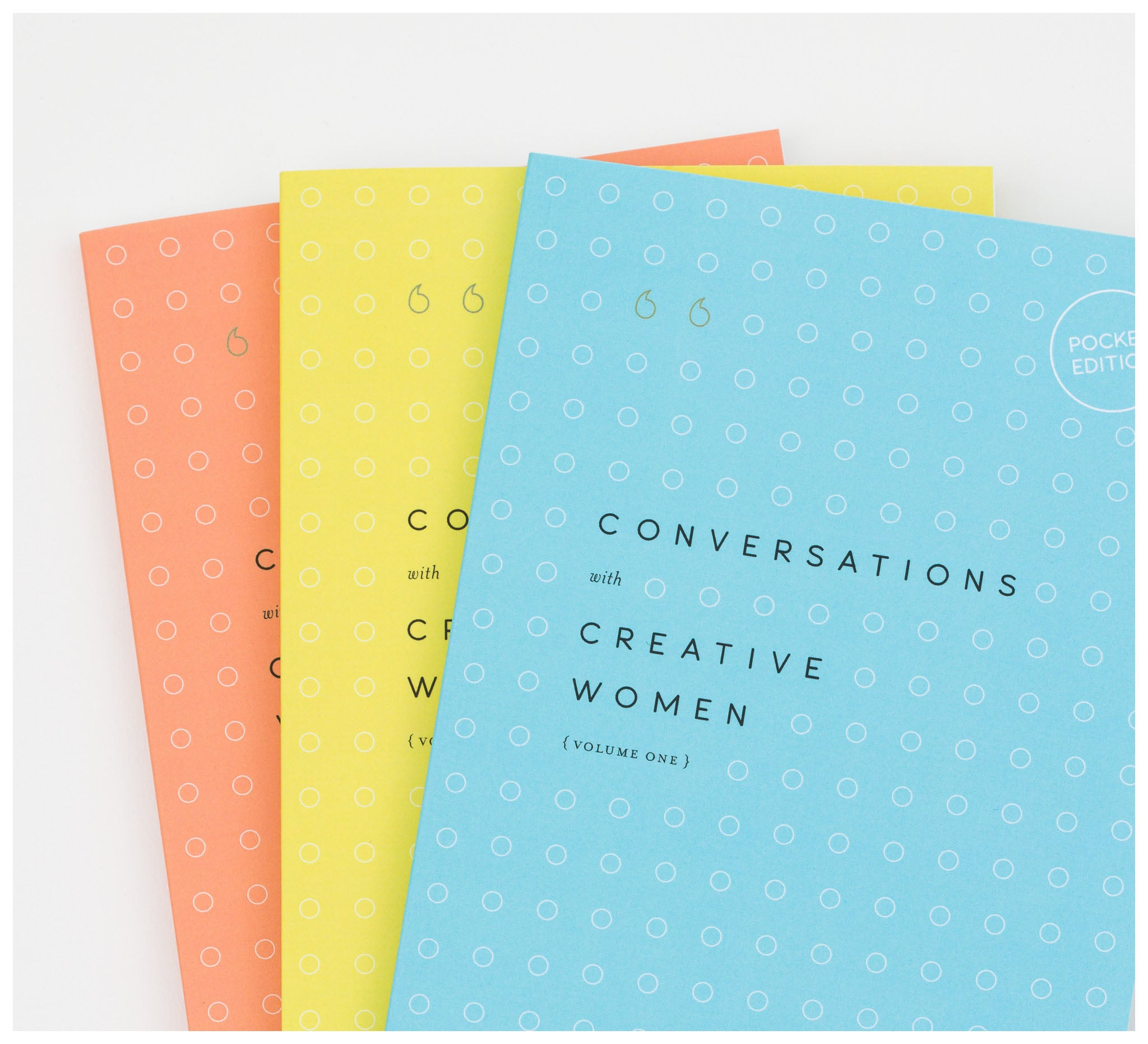 Creative Minds - Conversations with Creative Women: Bundle (pocket edition) by Tess McCabe - Book