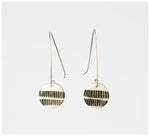 Trade the Mark - Two Stripes – Long Drop Earrings