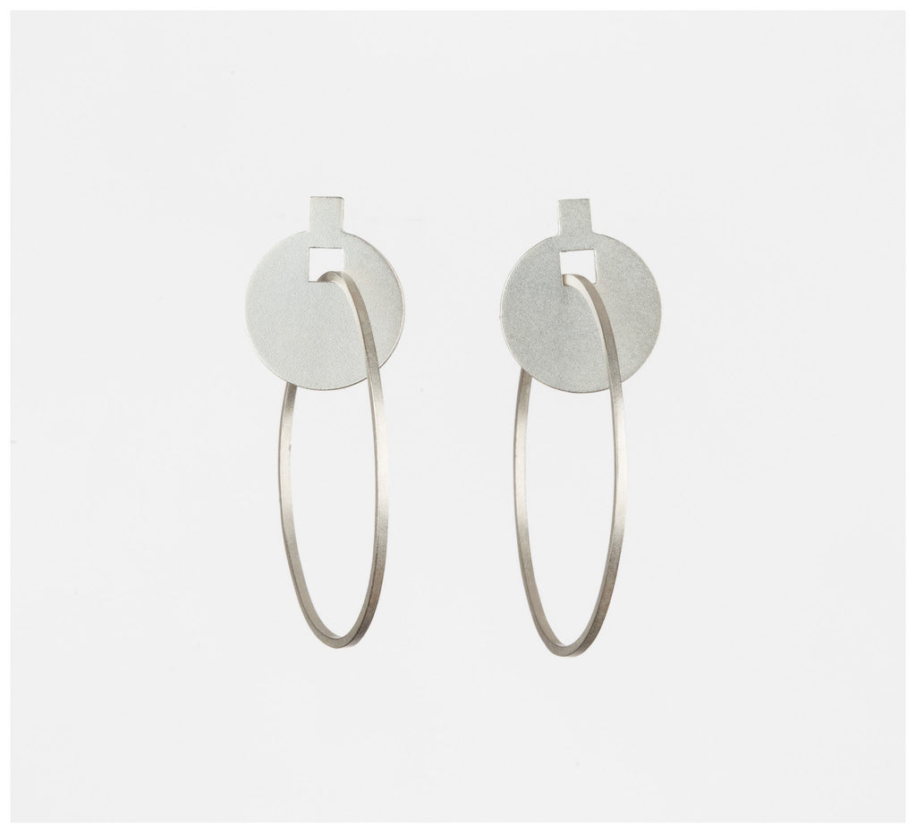 Alison Jackson - Around We Go Earrings