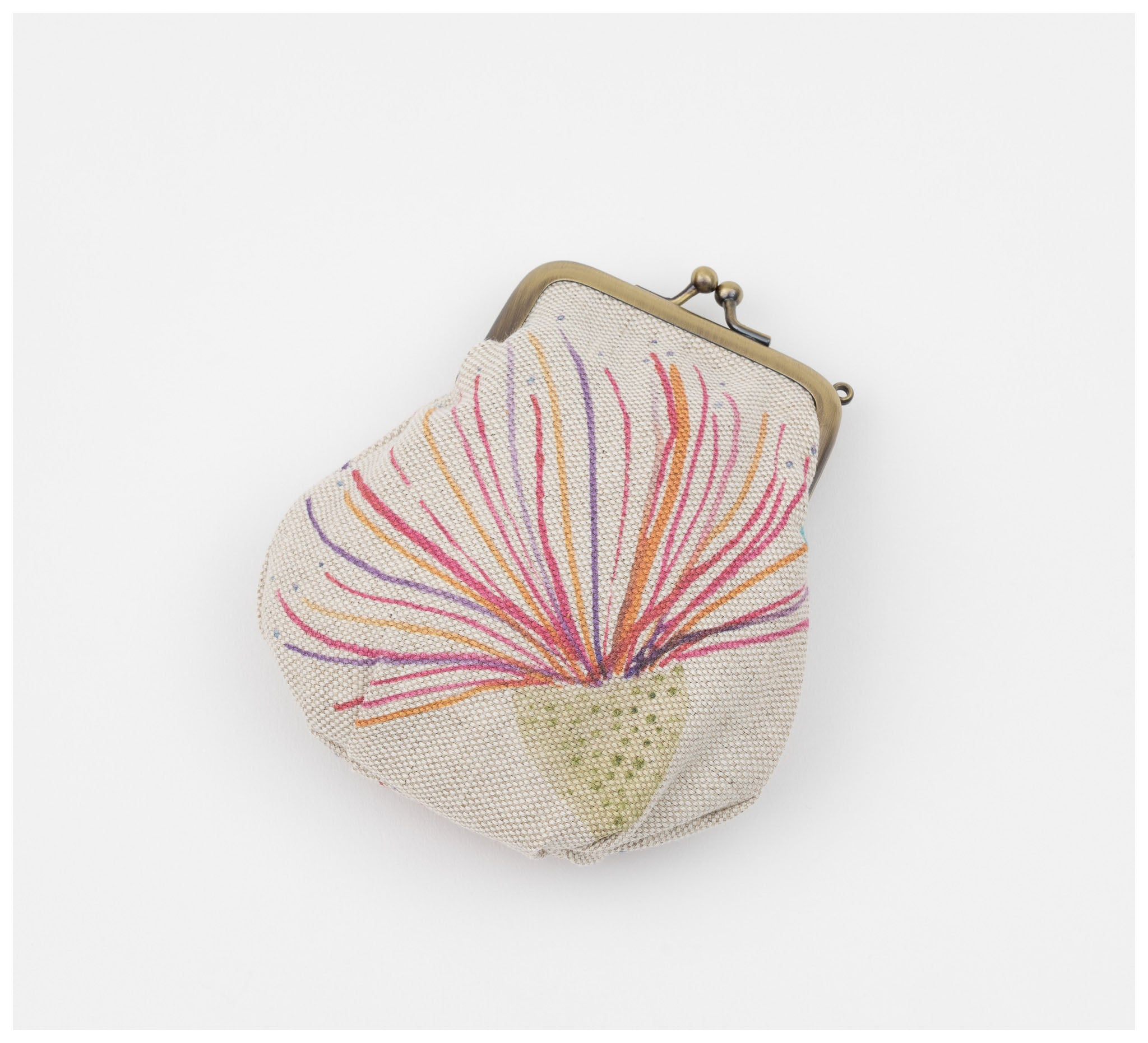Clare Mazitelli Designs - Clasp Purse - Big Gum