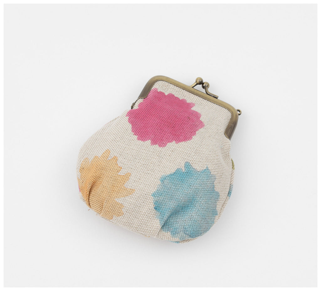 Clare Mazitelli Designs - Clasp Purse - Wattle Confetti