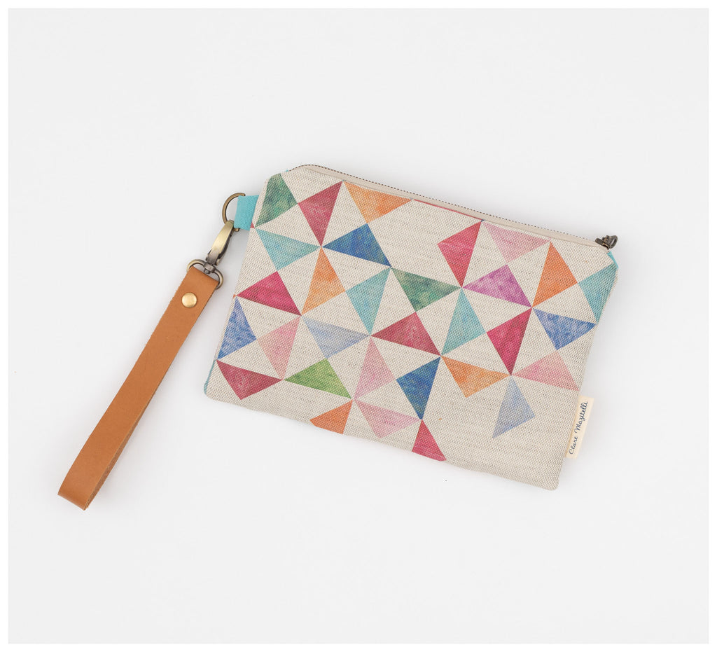 Clare Mazitelli Designs - Clutch Bags - Multi Print