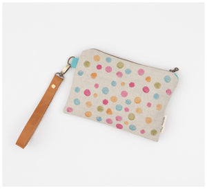 Clare Mazitelli Designs - Clutch Bags - Wattle Confetti