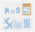 Clare Mazitelli Designs - Greeting Card Set - Petal Print