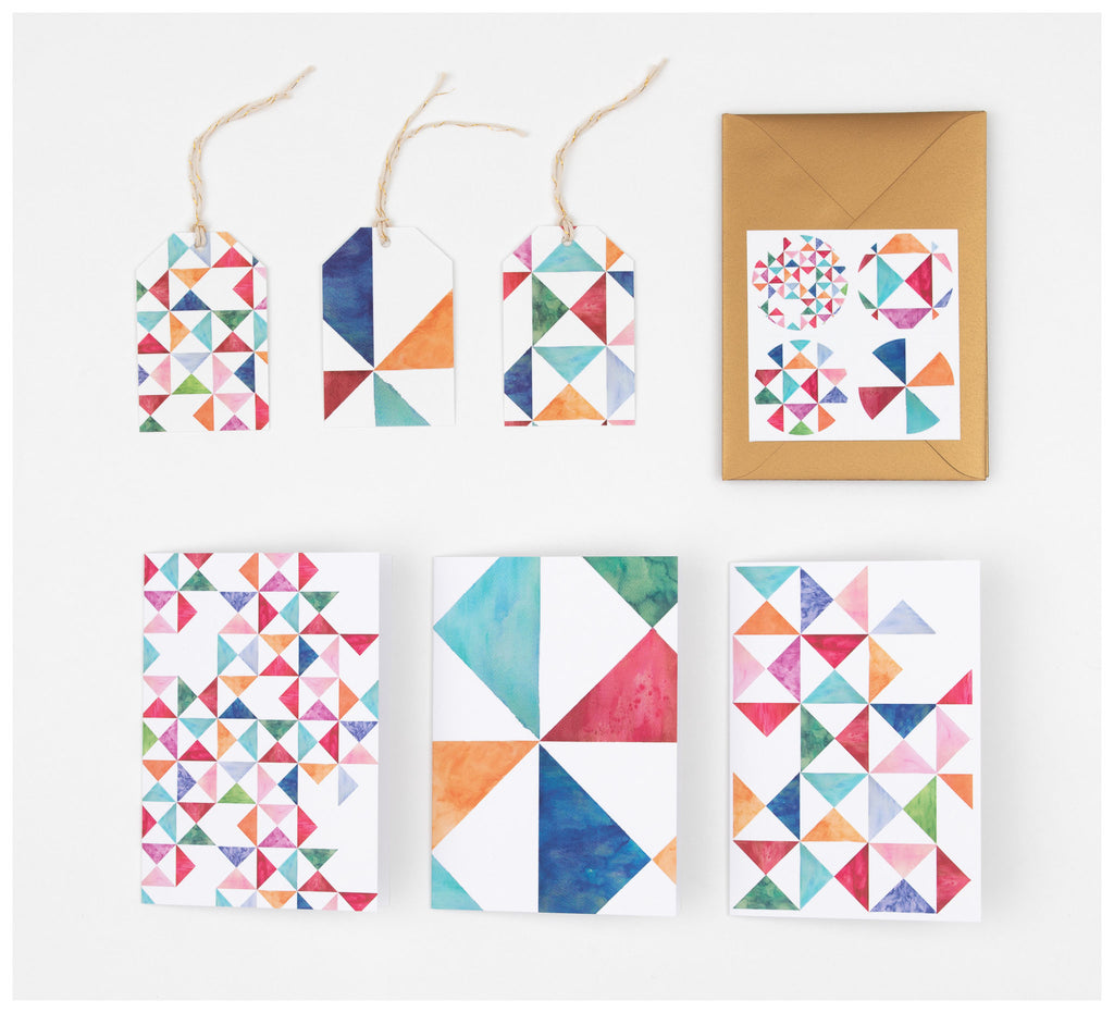 Clare Mazitelli Designs - Greeting Card Set - Multi Print
