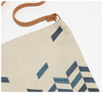 Clare Mazitelli Designs - Everyday Tote - Chevron Print