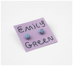 Emily Green Studio - Stud Earrings - Speckle - Messina Blueberry
