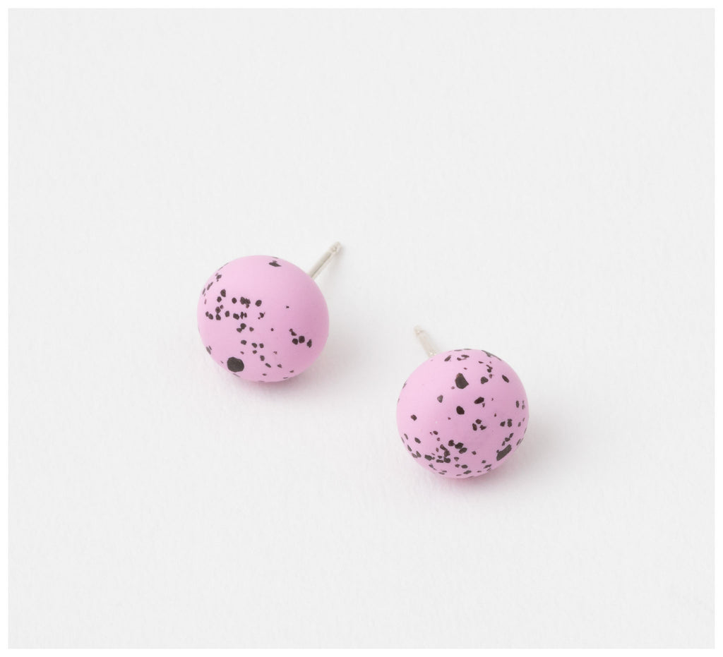 Emily Green Studio - Stud Earrings - Speckle - Fondant Speckle
