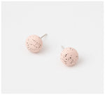 Emily Green Studio - Stud Earrings - Speckle - Blush Speckle