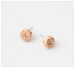 Emily Green Studio - Stud Earrings - China Blue - Gold Blush