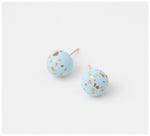 Emily Green Studio - Stud Earrings - China Blue - Ice Blue