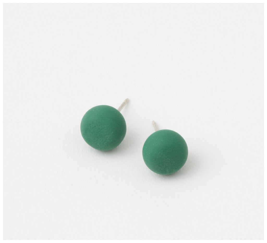 Emily Green Studio - Stud Earrings - China Blue - Clover