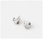 Emily Green Studio - Stud Earrings - Marmo - Blanche