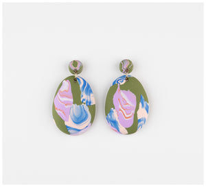 Emily Green Studio - Drop Earrings - Rock Pools