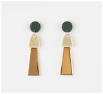 Erin Lightfoot - Porcelain Tassels - Green & Gold