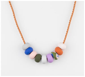 Emily Green Studio - 9 Bead Necklace - Rock Pools