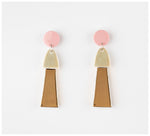 Erin Lightfoot - Porcelain Tassels - Pink & Gold