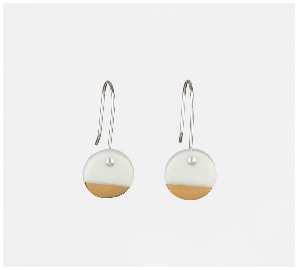 Erin Lightfoot - Spots - White & Gold