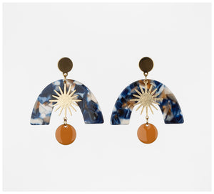 Middle Child - Celeste Earrings - Blue