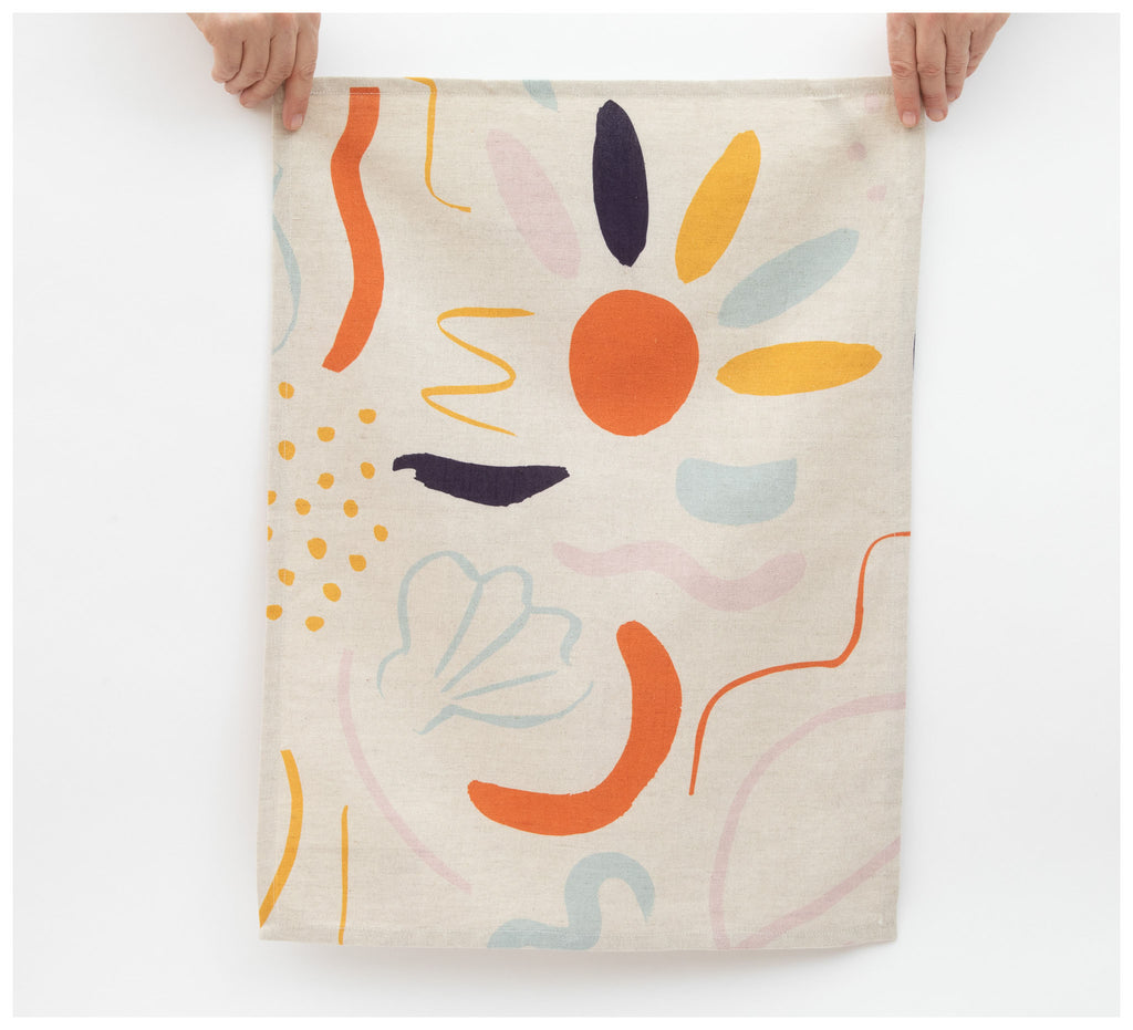 Mosey Me - Low Tide Tea Towel