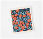 Fabric Drawer - Compostable Dish Cloth - Biodegradable & Compostable - Blooming Print