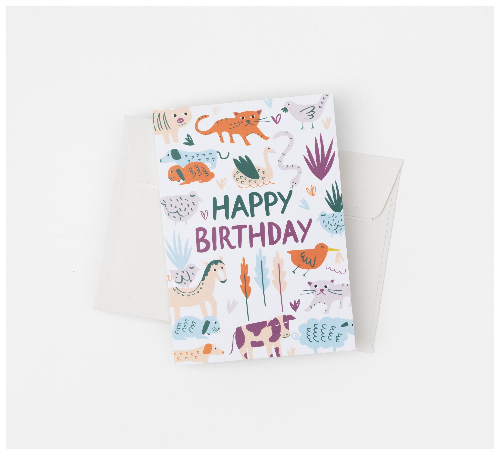 Fabric Drawer - Greeting Cards - Set of 5 (mix and match) - Recycled Card and Envelope