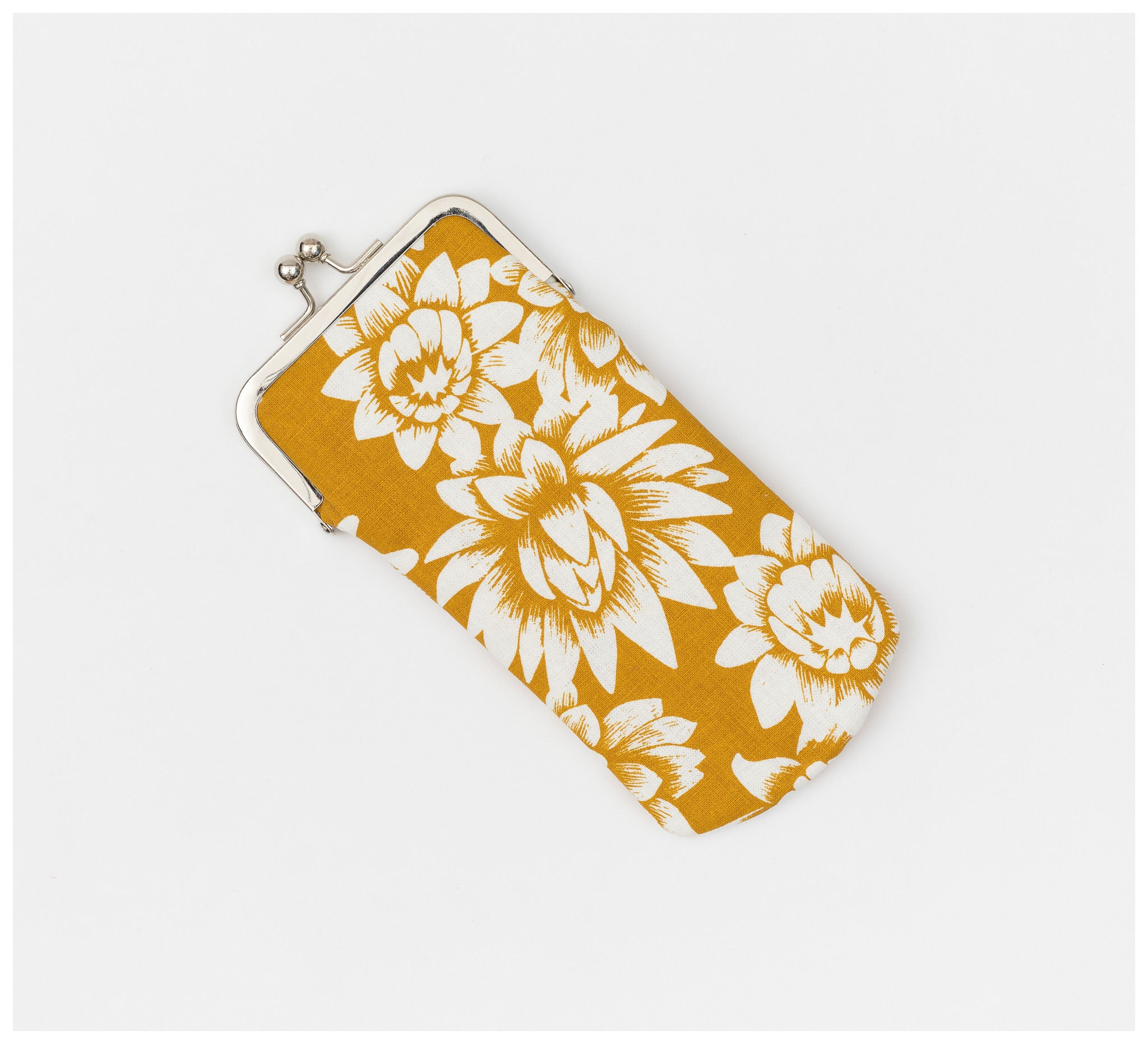 Ink & Spindle - Glasses Case – Everlasting in Yellow Ochre