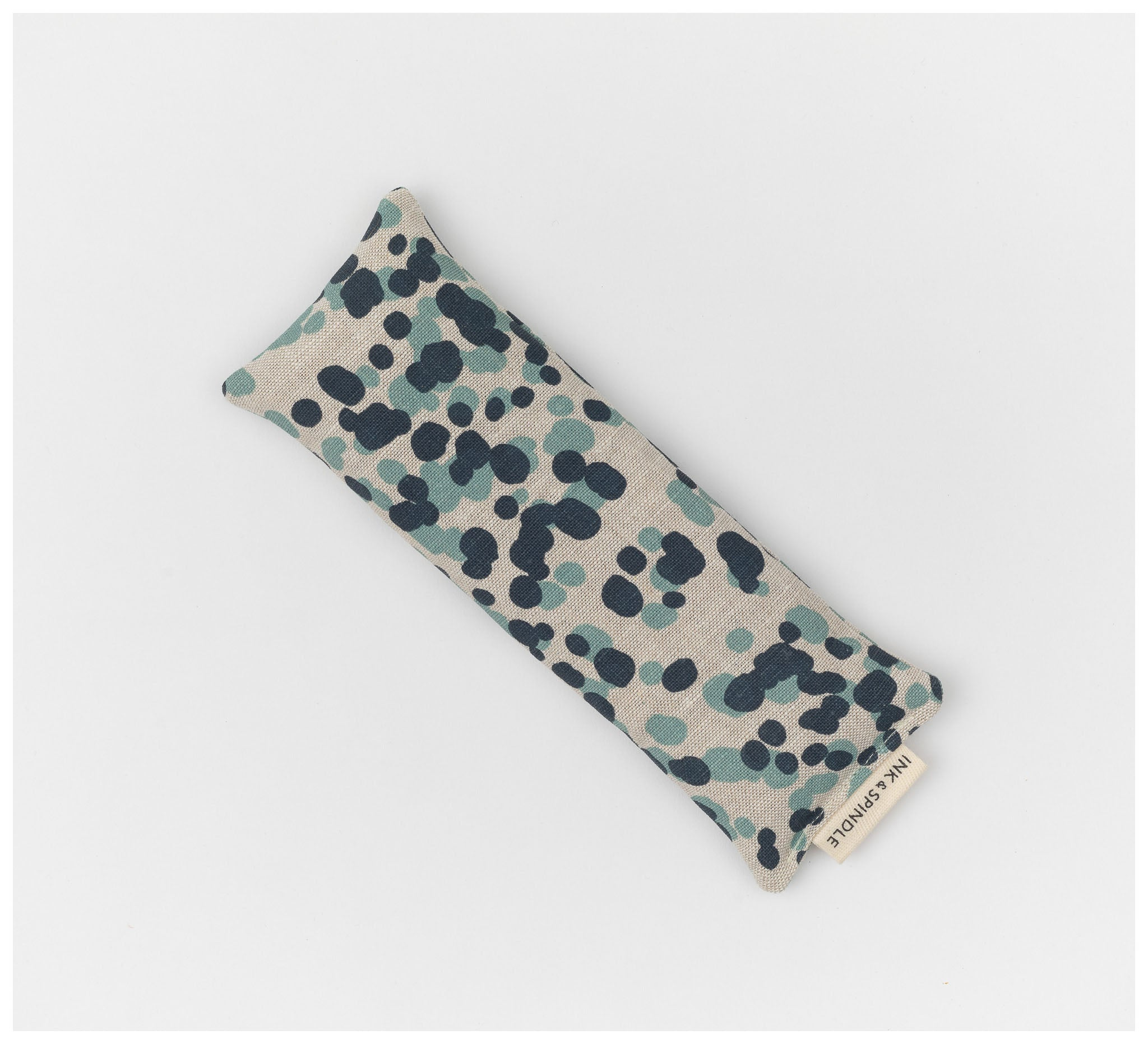 Ink & Spindle - Eye pillow - Spotted Quoll in Bluestone