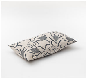 Ink & Spindle - Rectangle Cushion – Sawtooth Banksia in Bluestone